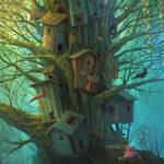 Tree by gedomenas