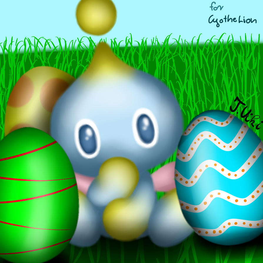 Easter Chao commission for CyotheLion by TothViki