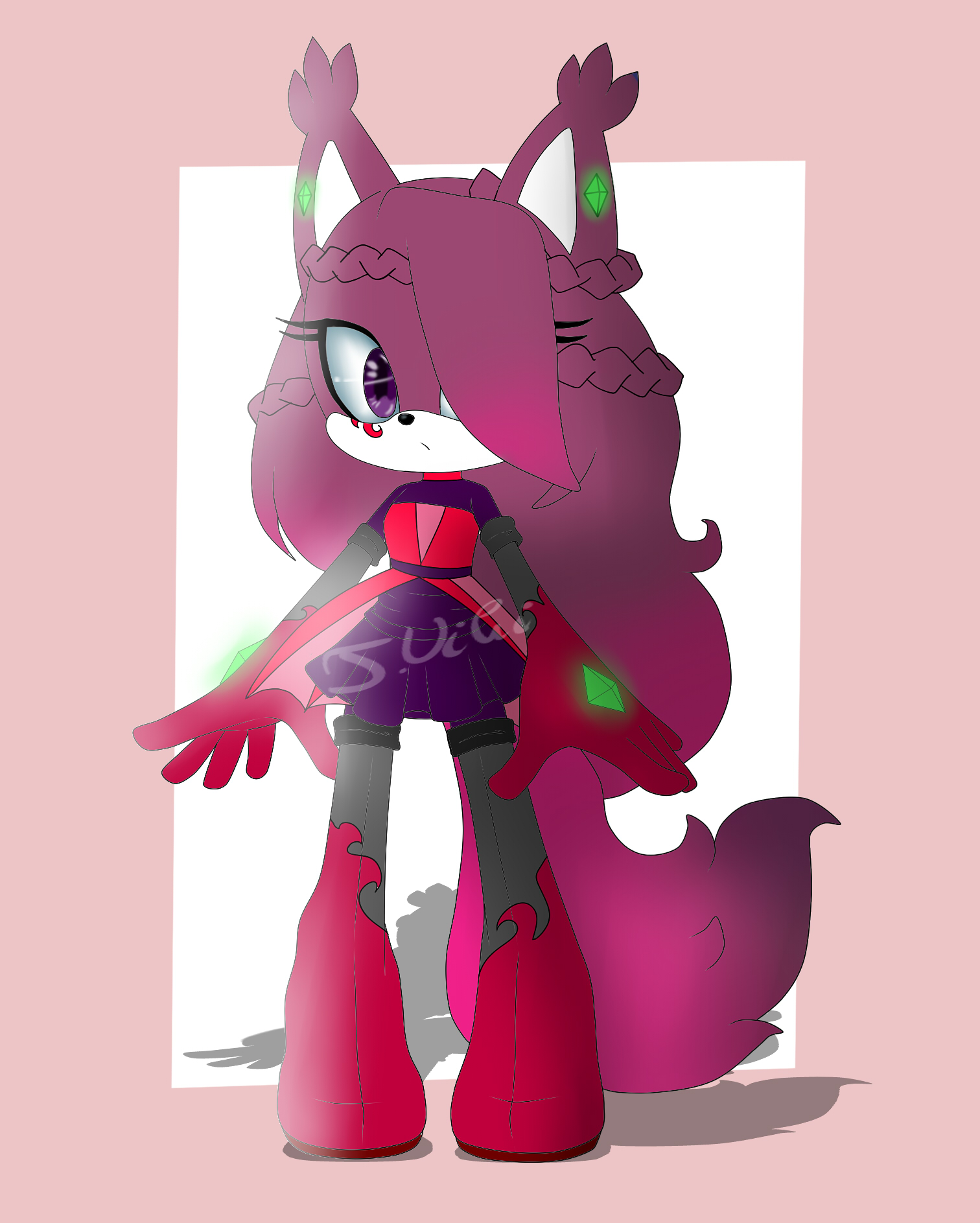 Female fox adoptable! (CLOSED) by TothViki