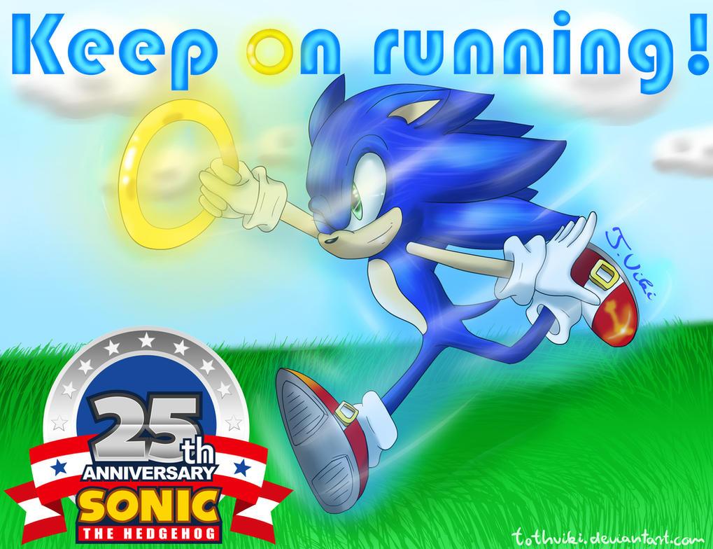 Happy 25th Anniversary Sonic! by TothViki
