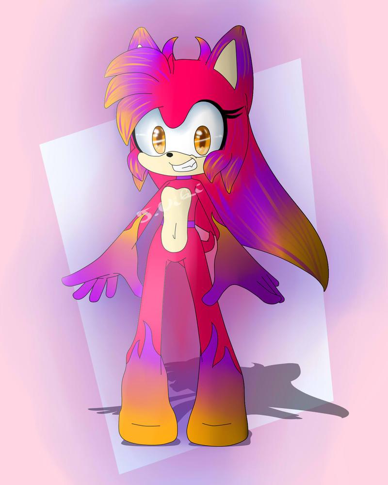 Devil Hedgehog Adoptable :CLOSED: by TothViki