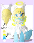 Female Angel Fox adoptable :CLOSED: by TothViki