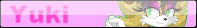 Yuki button for YukiCos by TothViki