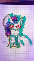 Lau doodle I made in school by TothViki