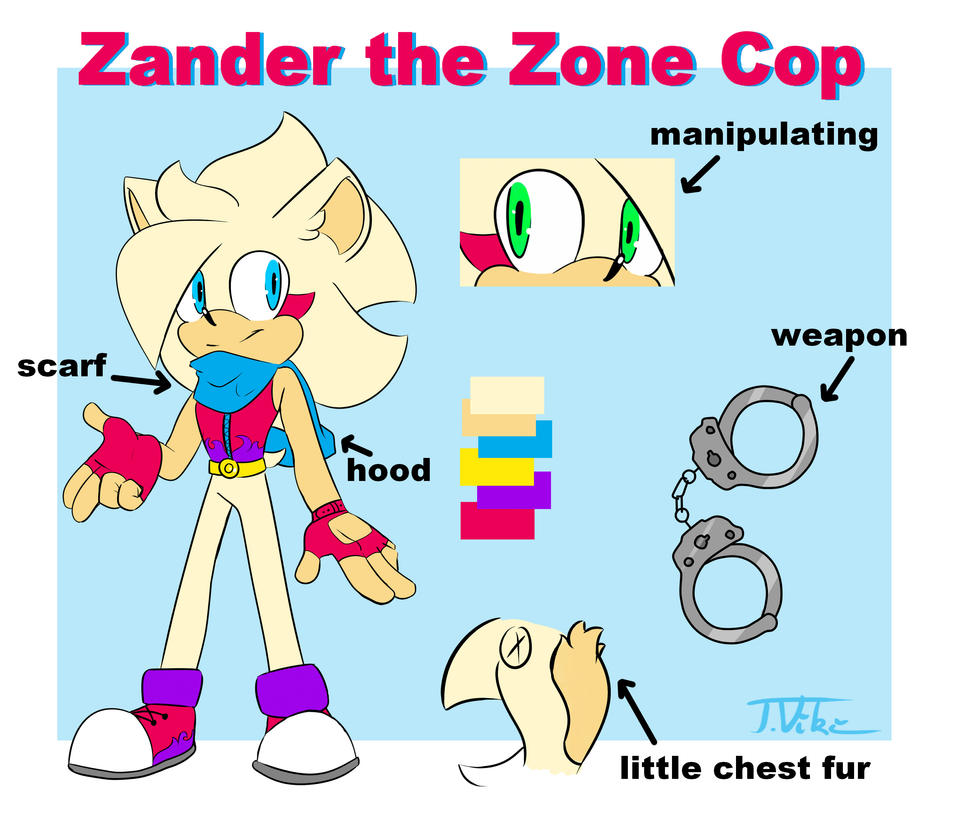 Zander the Zone Cop :reference: NEW by TothViki