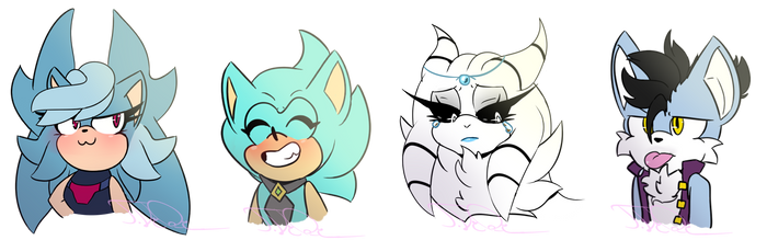 Expression comms Batch#2 by TothViki