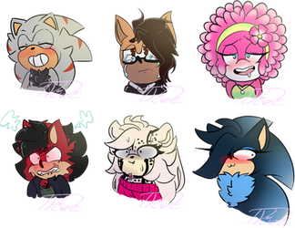 Expression comms Batch#3 by TothViki