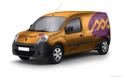 M Net Mini Van Branding by nilotpalsingha
