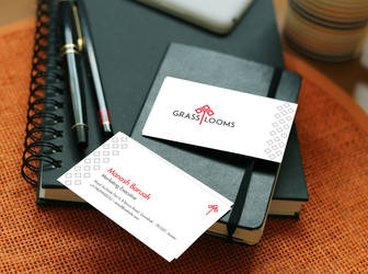 GrassLooms Business Card by nilotpalsingha