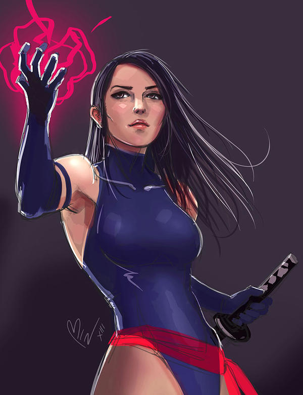 Psylocke by bangbez