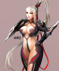 Blade and Soul Fanart by bangbez