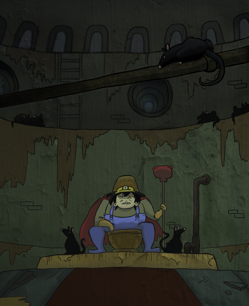 In the Court of the Sewer King by BrianDanielWolf on DeviantArt