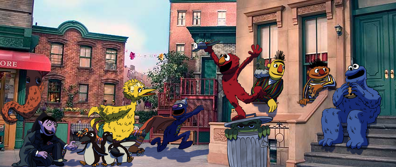 The Street We Live On- Sesame Street Tribute