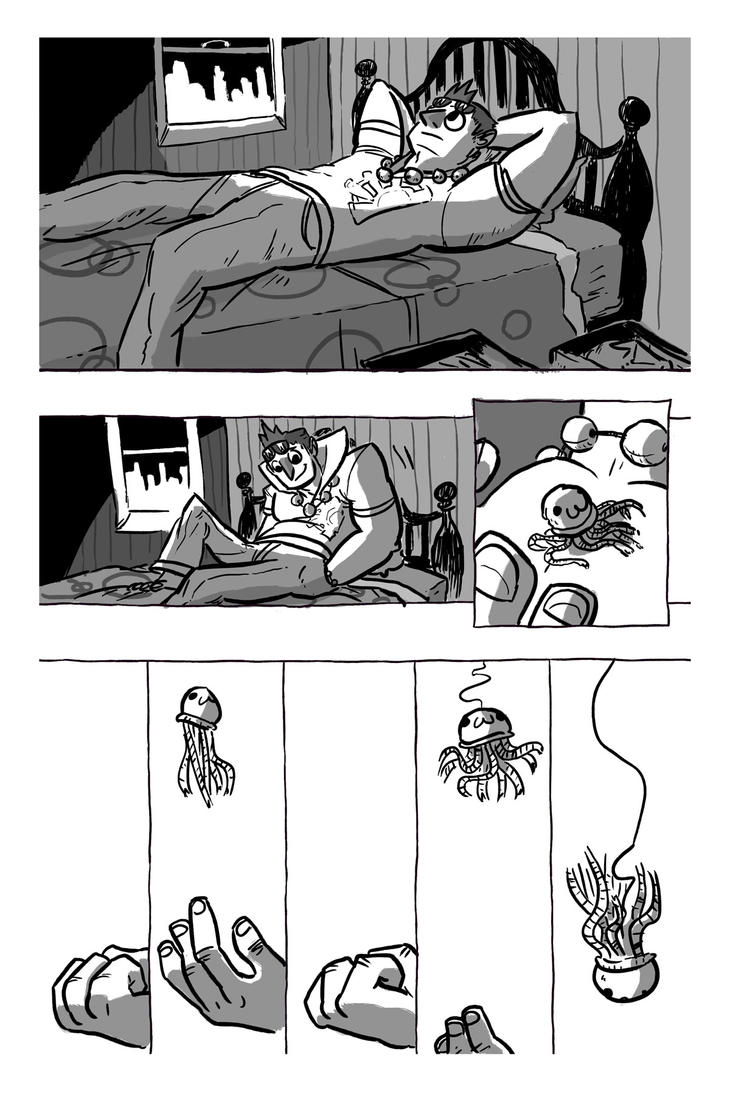 EnterVoid Anthology Preview Page 1 by BrianDanielWolf