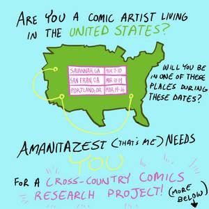 Calling All US Comic Artists!