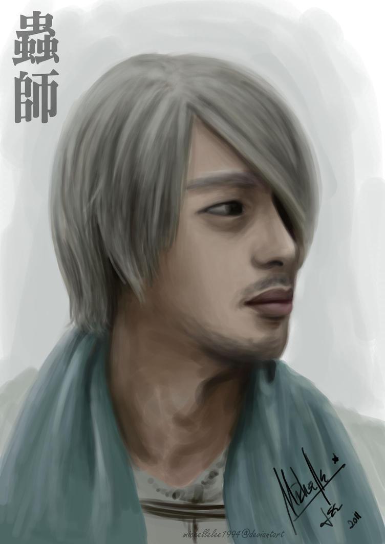 Mushishi Ginko Potrait by MicehellWDomination