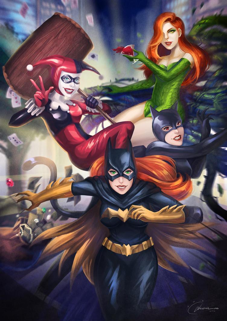 Gotham girls by MicehellWDomination