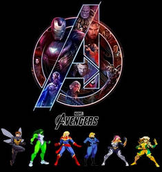 The Avengers: Alpha Female by NhymnSymphony