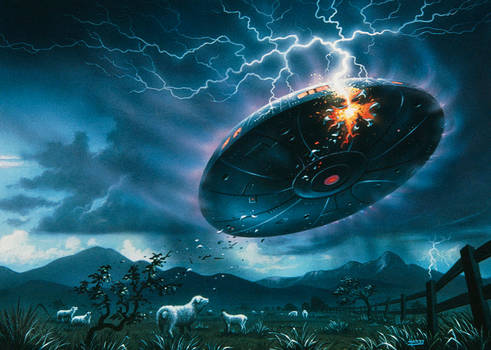 Roswell: The Incident, The Sacrifice.