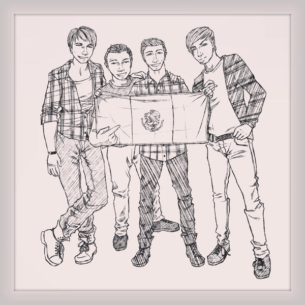 big time rush coloring pages - photo#22