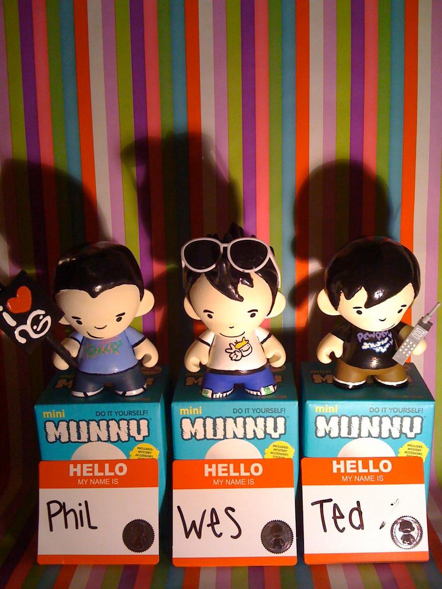 WongFu Munny Series by kneesheellee