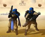 Dune: Evolution - Atreides Infantry (v3)