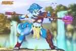Star Fox Adventures - Krystal's Combat Stance by GeroVort