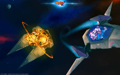 Star Fox 2 Wallpaper - Fay's Big Win by GeroVort