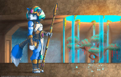 Krystal the Keeper from Cerinia by GeroVort