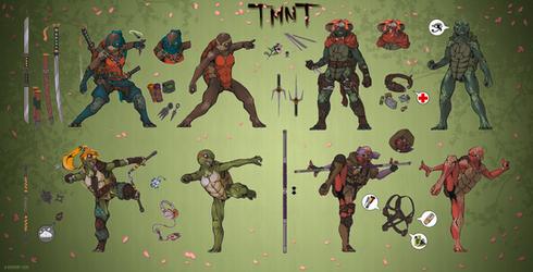 TMNT - Genderbend concept (r63)