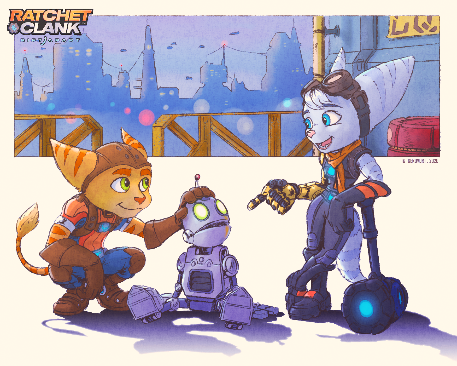 Ratchet And Clank Rift Apart By Gerovort On Deviantart