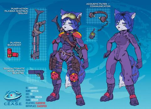 COMM #2 C.E.A.S.E. Officer Krystal concept