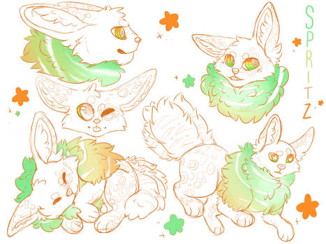 || Spritz Sketch Sheet | P ||