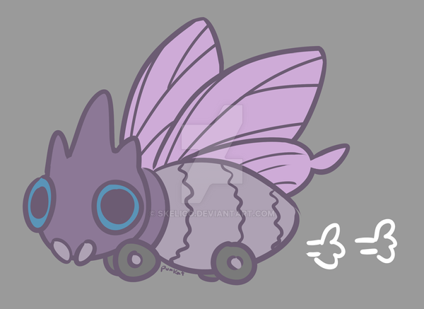 all-terrain venomoth by pumkat