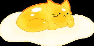 artfight 2018 - egg cat