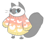 sweater cat commission