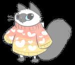 sweater cat commission
