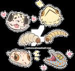 lizard stickers