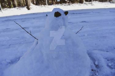 snowed man