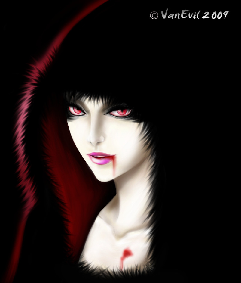Hooded Vampire by VanEvil