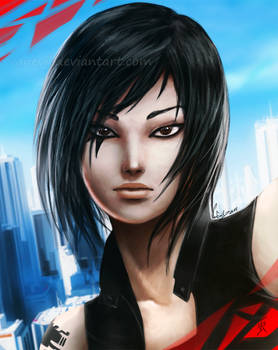 Faith -Mirror's Edge Catalyst- by VanEvil