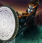 Midna in Battle