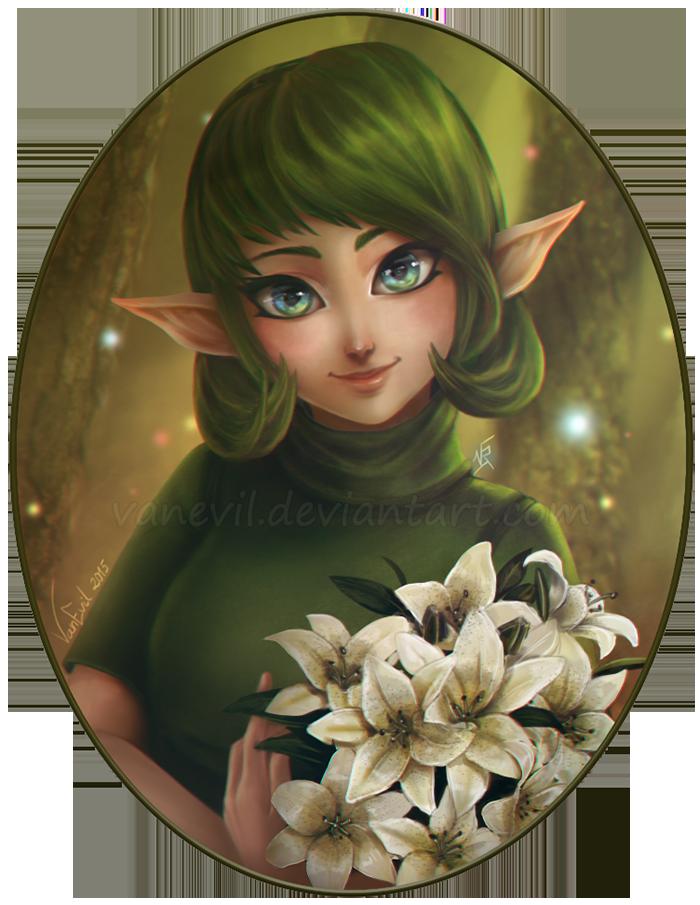 Forest Girl by VanEvil
