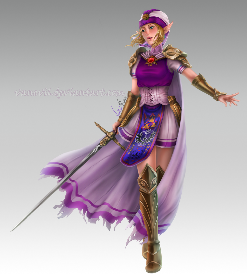 c princess zelda by vanevil on deviantart