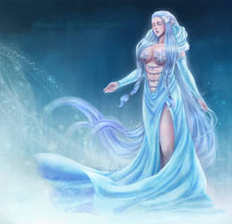 C: Priscilla, the Guardian of Ice by VanEvil