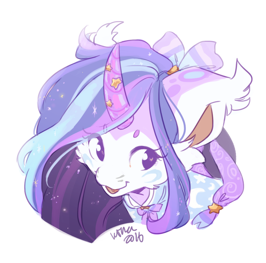 (GIFT) Unicorn Princess by Kitkabean
