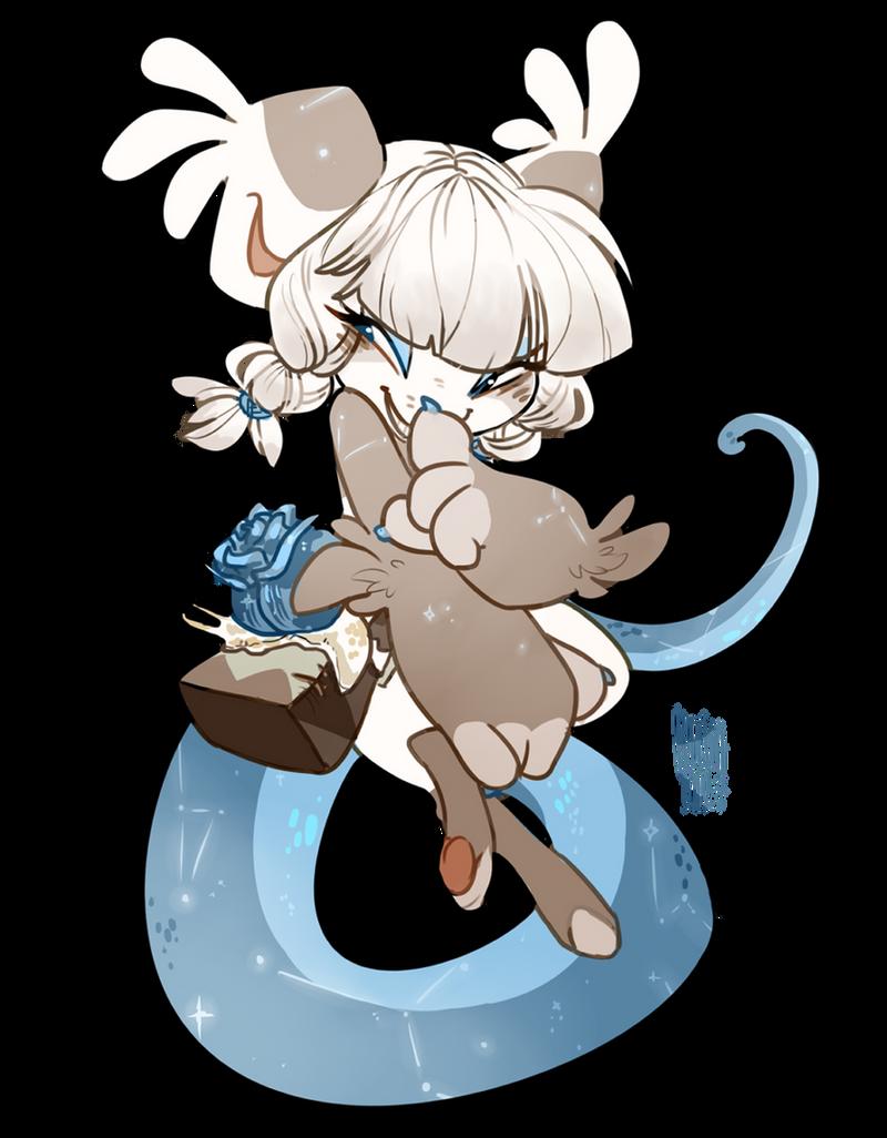 Mischievous Rose by Kitkabean