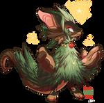 #138 Fornlee w/m - Festive Tree