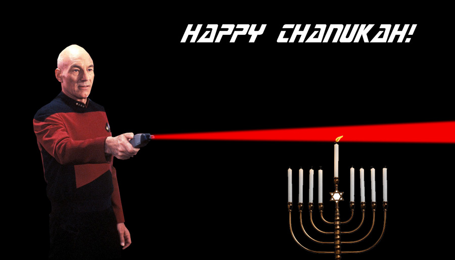 Happy Chanukah, Make it so by marron