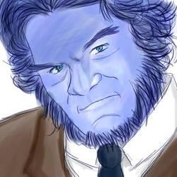 I love Hank by marron